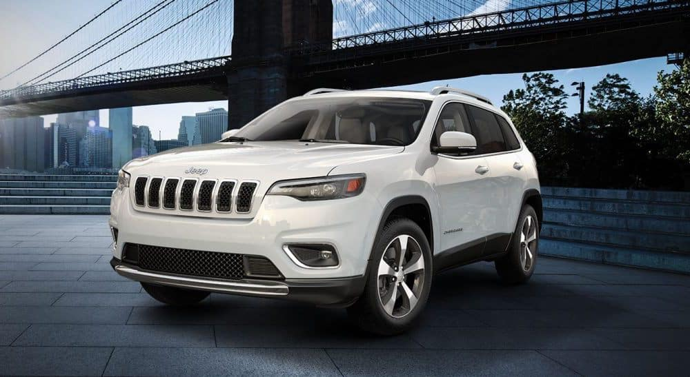 White 2019 Jeep Cherokee