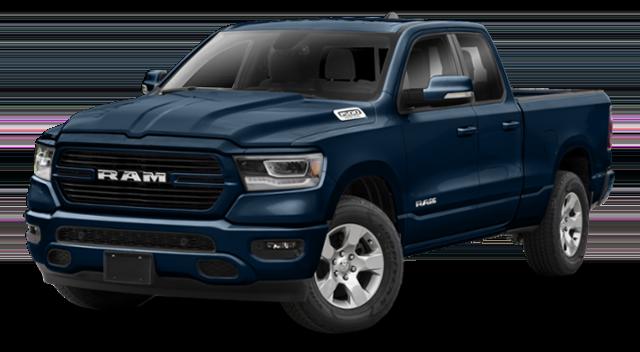 Blue 2019 RAM 1500