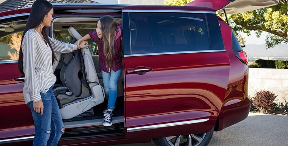 2020 Chrysler Pacifica Passengers