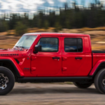 red 2020 Jeep Gladiator Rubicon banner image