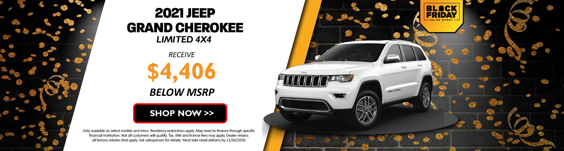 2021 Jeep Grand Cherokee November