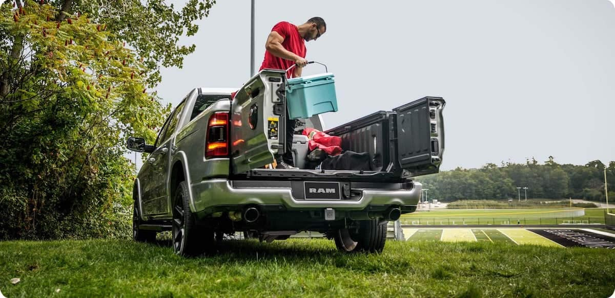 2021 RAM 1500 Bed Sizes Banner