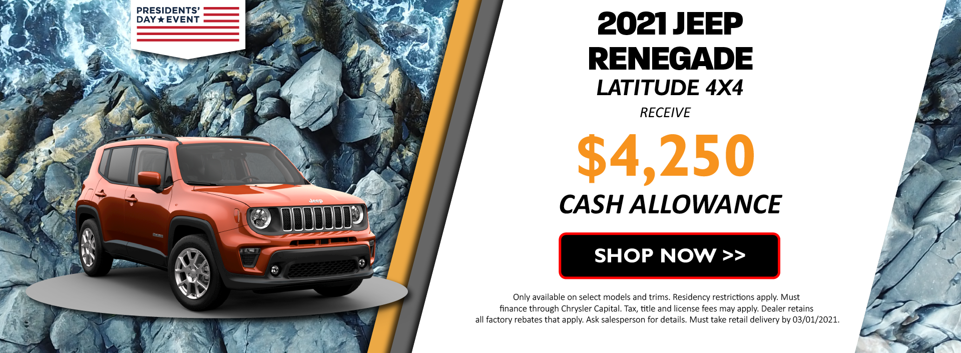 2021 Jeep Renegade February
