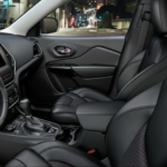 2021 jeep cherokee black leather interior