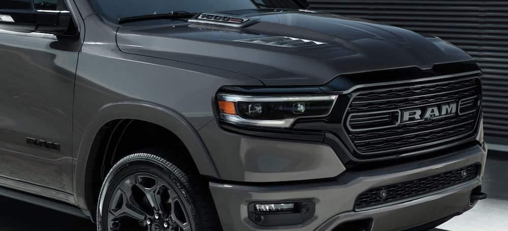 2021 ram 1500 grey exterior