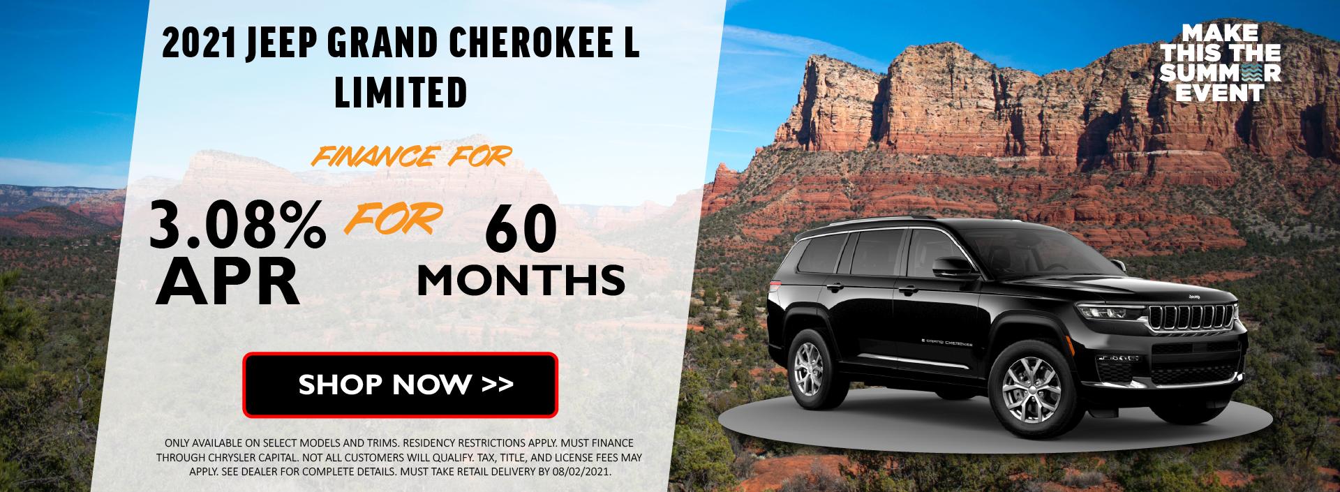 2021 Jeep Grand Cherokee July