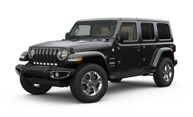 2019 Jeep Wrangler Colors Black