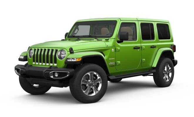 2019 Jeep Wrangler Colors Mojito