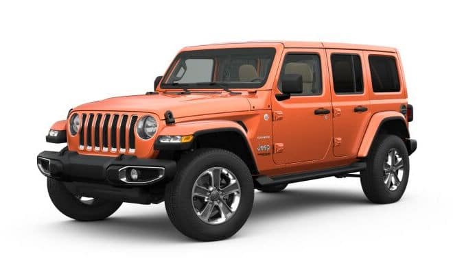 2019 Jeep Wrangler Colors Punk'n Metallic