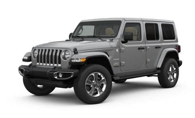 2019 Jeep Wrangler Colors Sting Gray