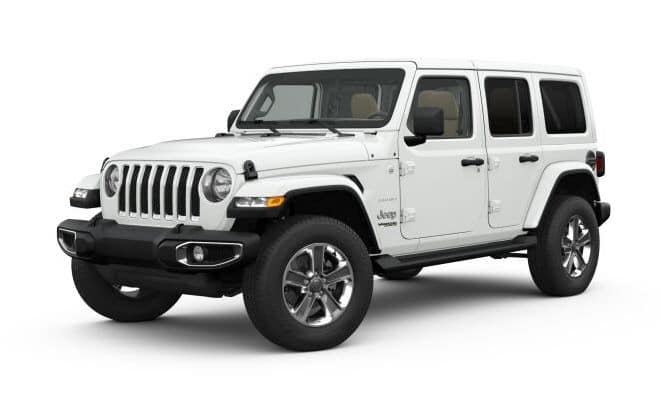 2019 Jeep Wrangler Colors White