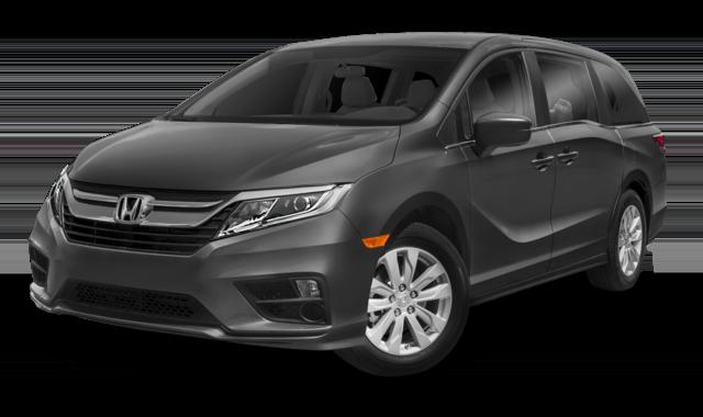 Gray 2019 Honda Odyssey