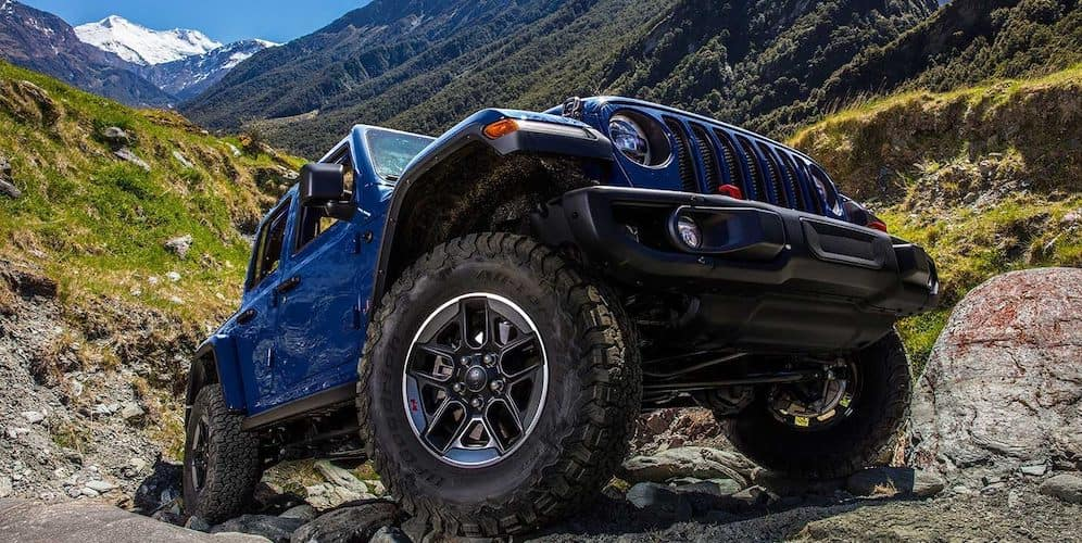 2019 Jeep Wrangler Blue Color