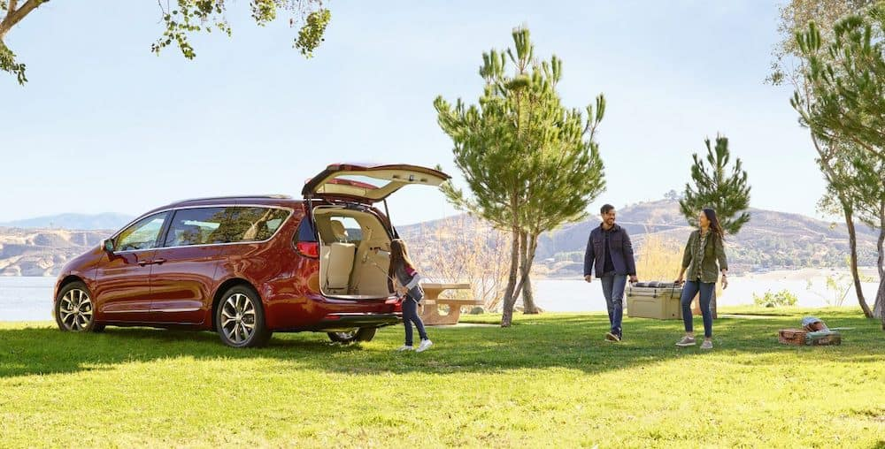 2019 Chrysler Pacifica Camping