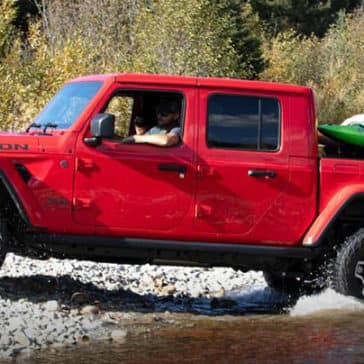 2020 Jeep Gladiator Crossing Stream