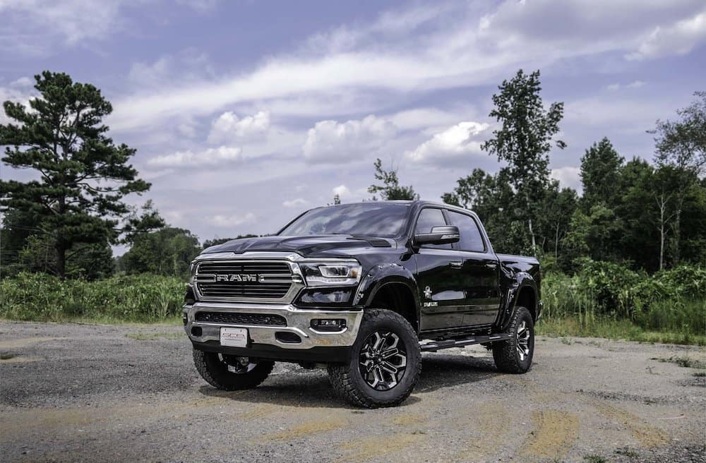 2019+Ram+BW+Front+Qtr