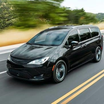 2020 Chrysler Pacifica Driving