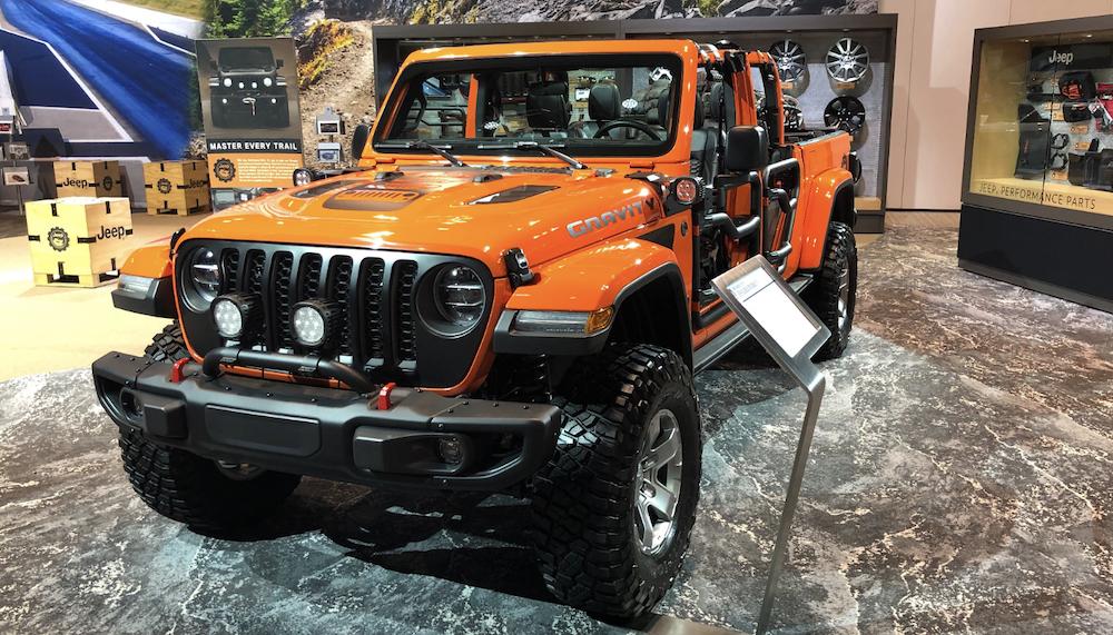Chicago Auto Show Jeep Gladiator