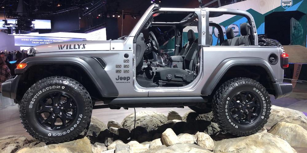 Jeep Wrangler Willys Chicago Auto Show