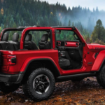 2020 Jeep Wrangler in red