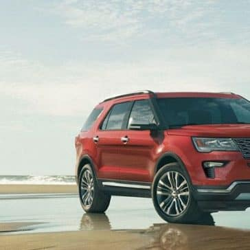 2019-Ford-Explorer-On-Beach