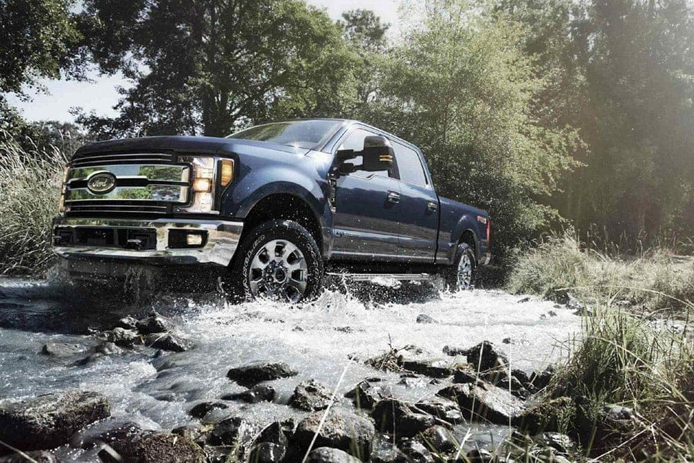 2019-Ford-F-250-on-Water
