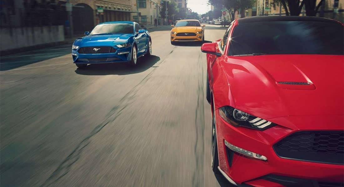 2019-Ford-Mustang-models-driving