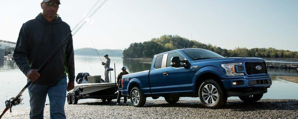 2019 Ford F-150 Towing Fishing Boat
