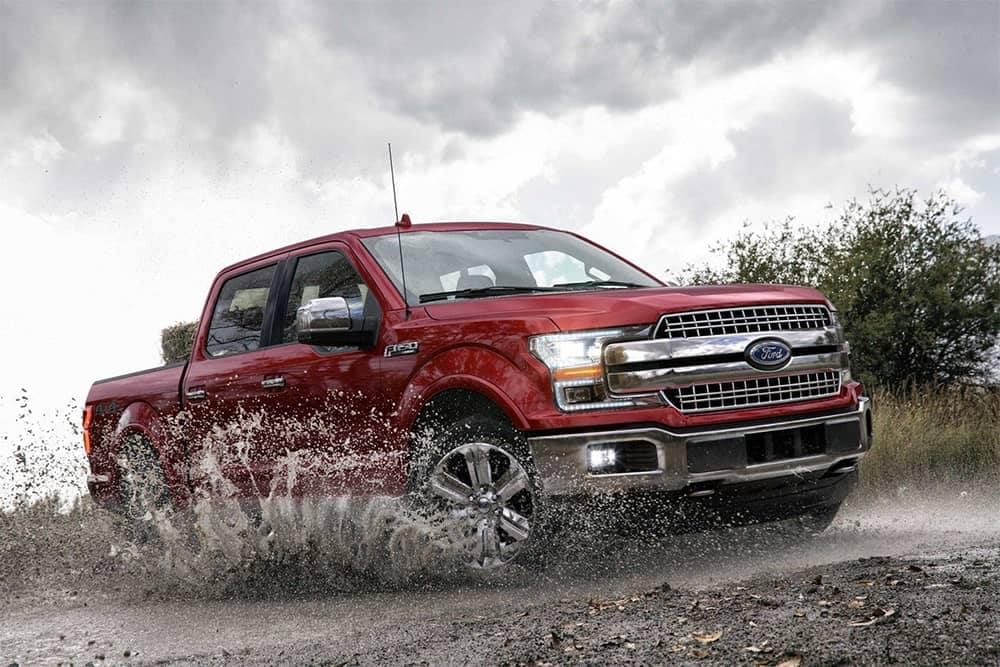 2019 Ford F-150 Splashing