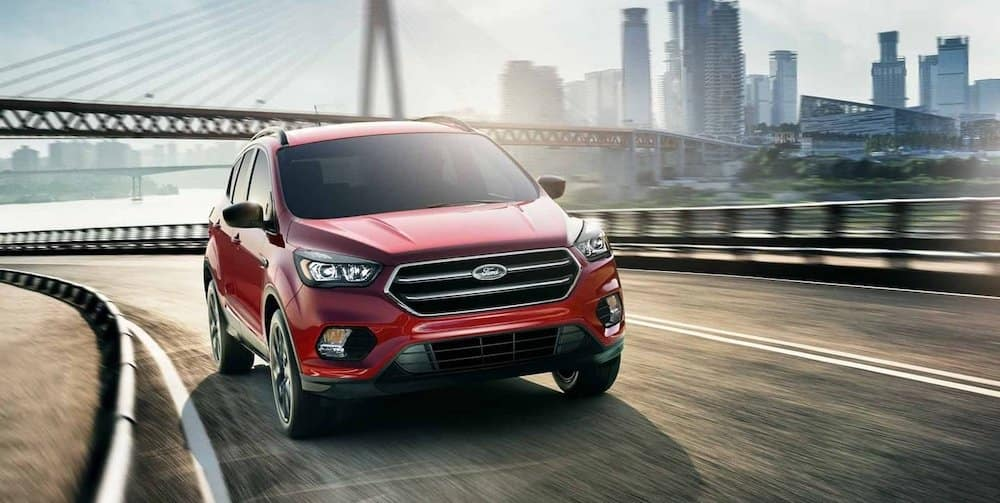 Red 2019 Ford Escape