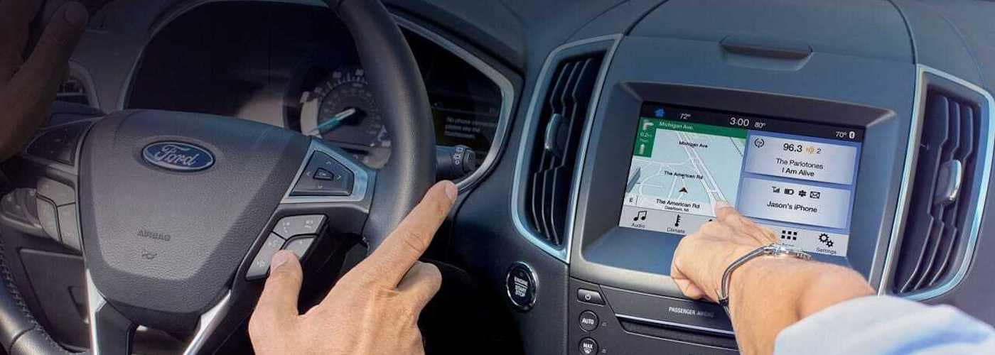 Ford Sync Screen Close Up