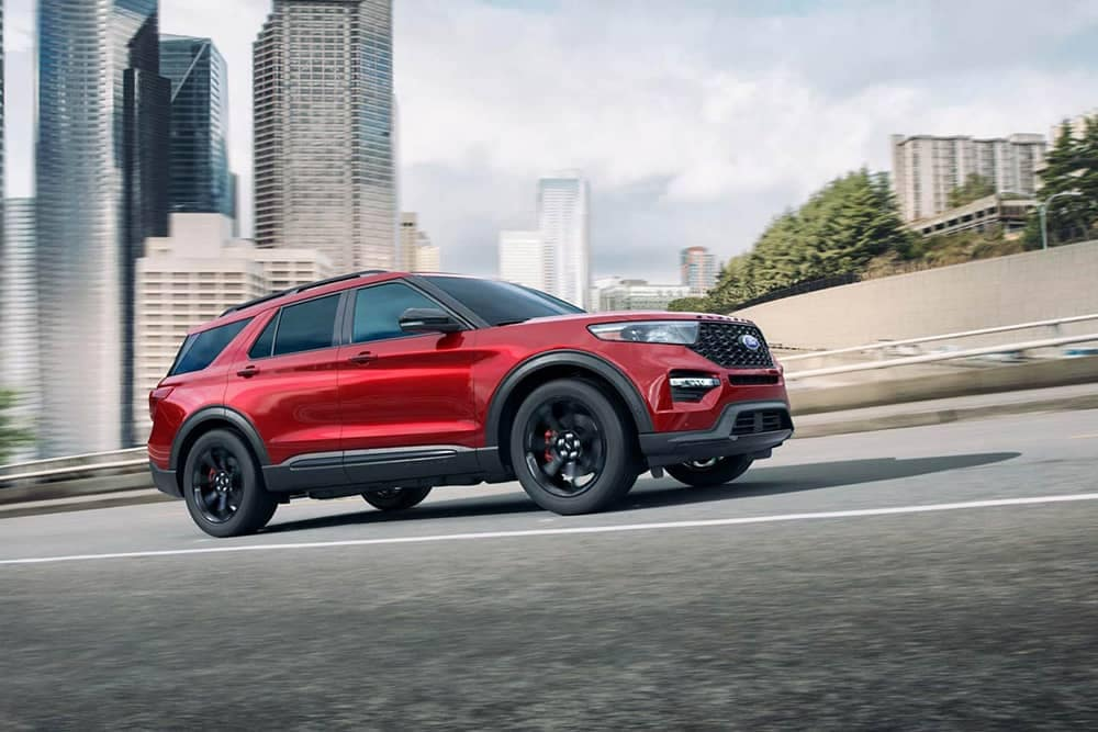 2020 Ford Explorer Driving