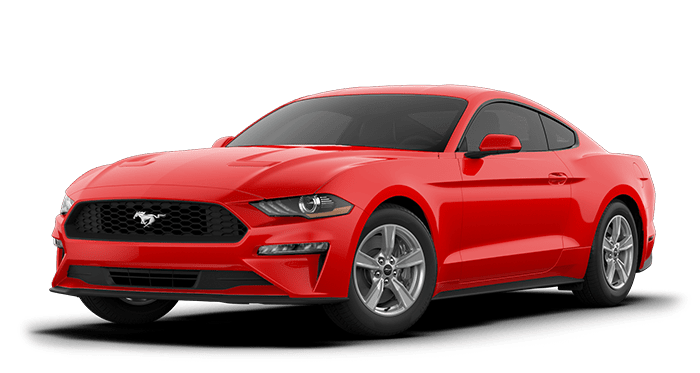 2020 Ford Mustang Red
