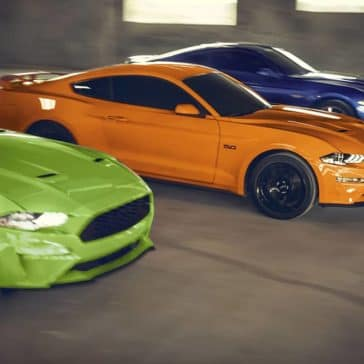 2020 Ford Mustang Trio