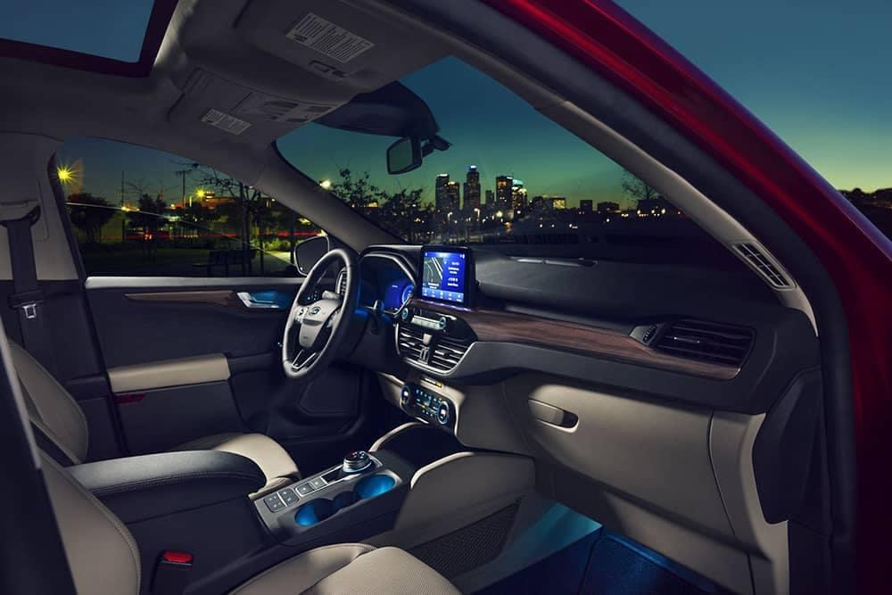 2020 Ford Escape Dash