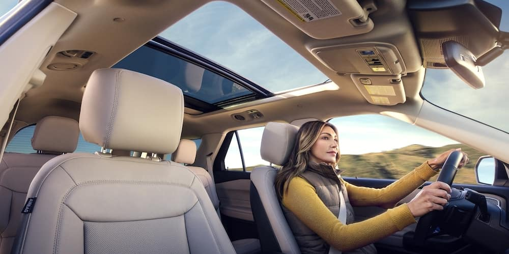 2020 Ford Explorer Interior Driver