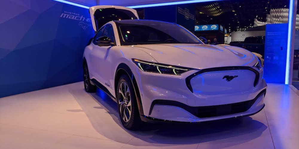 2021 Mustang Mach E Charging