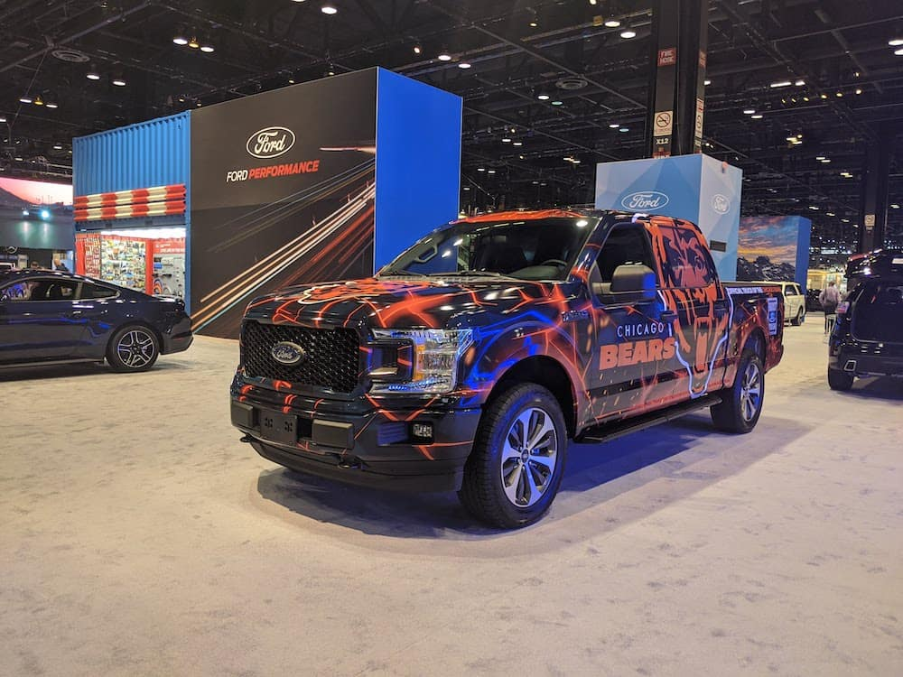 Chicago Bears F-150