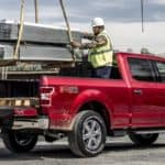 2020 Ford F-150 Loading Truck Bed with Crane