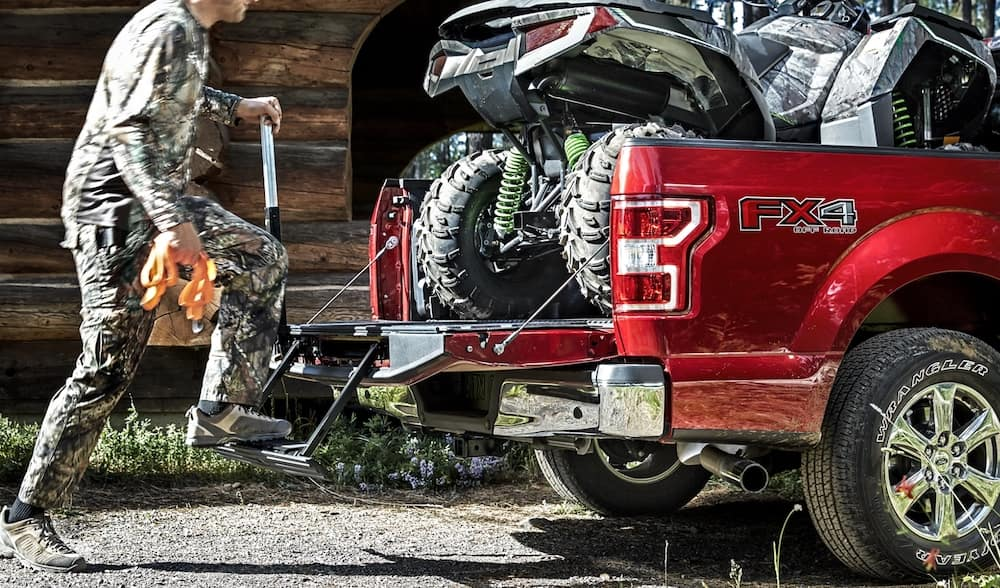 2020 Ford F-150 Truck Bed Assist