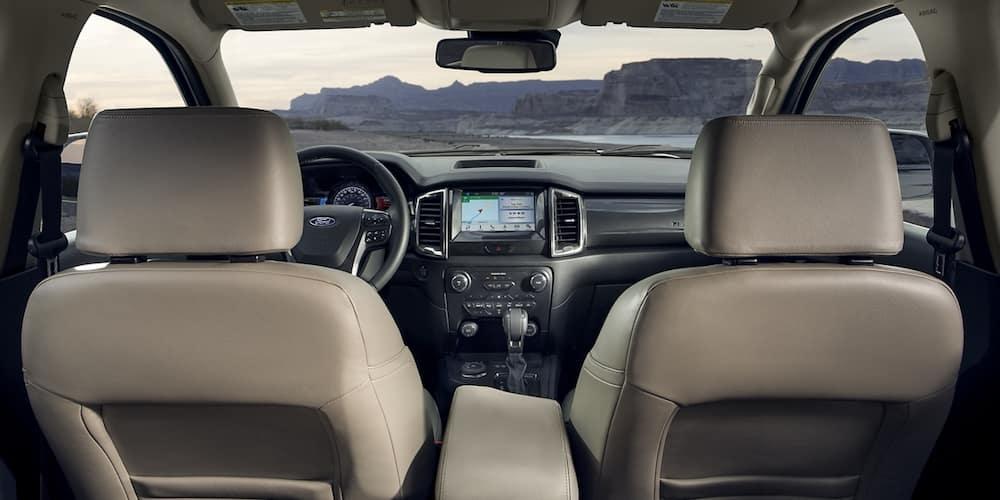 2020 Ford Ranger Front Interior