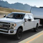 2021 Ford F-250 Towing Banner