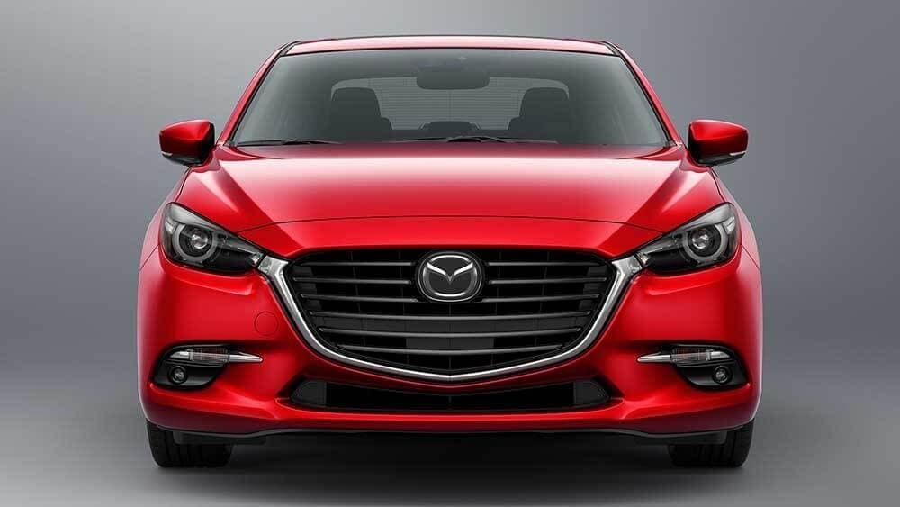 2018 Mazda3 Sedan front exterior