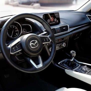 2018 Mazda3 Sedan front interior