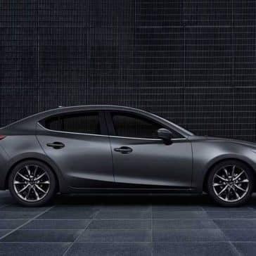 2018 Mazda3 Sedan exterior side view