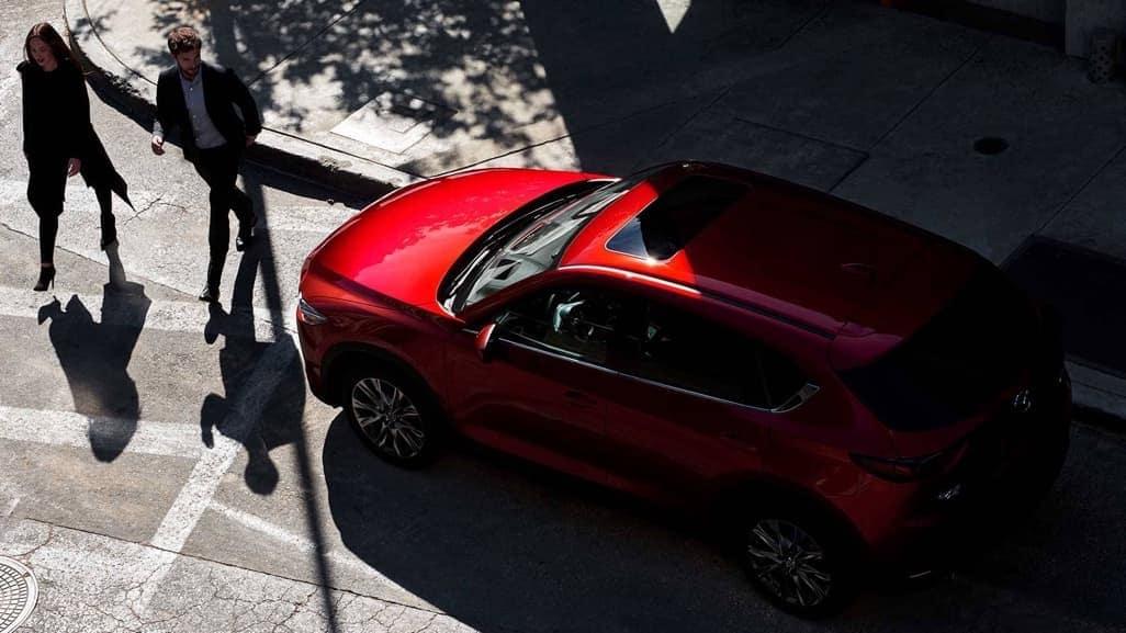 2019 Mazda CX-5 aerial view