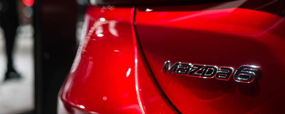 2018 Mazda6 Rear Red