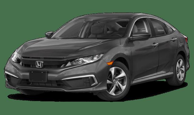 2019 Gray Honda Civic