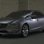 2020 Mazda6 parked in concrete display area