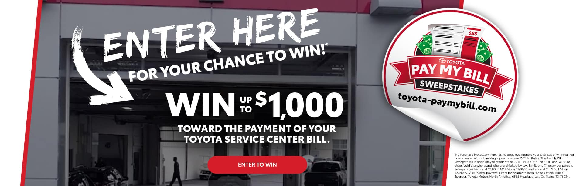 Toyota Pay My Bills